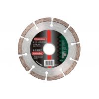 """Алмазный отрезной круг METABO """"SP"""", 180x22,23 мм, универсальный, сегментированный (624309000)"""